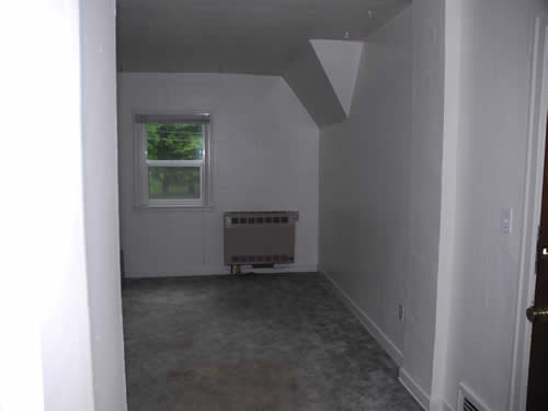 A one-bedroom apartment in the fourplex on 118 S. Hayes Street in Moscow, Id