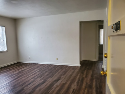 a two-bedroom at The Elysian Fourplexes, 1119 Third Street, #101, Moscow ID 83843