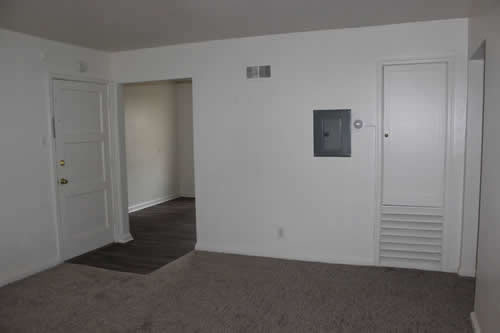 A one-bedroom at The ELysian Fourplexes, apartment 102 on 307 South Blaine Street in Moscow, Id