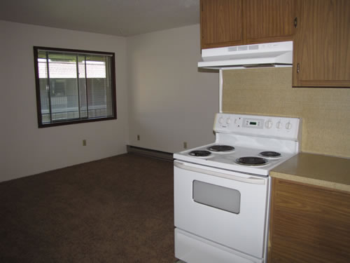A one-bedroom at The Laurel Apartments, 1585 Turner Dr., #24