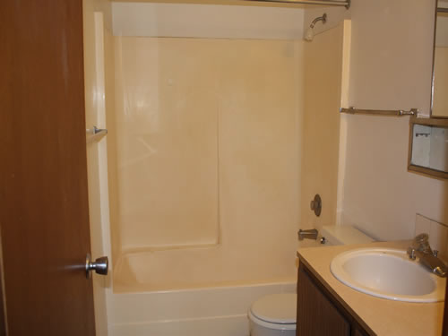 A one-bedroom at The Laurel Apartments, 1585 Turner Drive, apartment 4 in Pullman, wa
