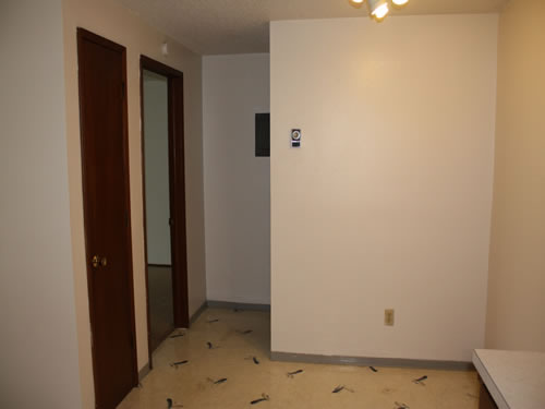 A one-bedroom at The Aegis Apartments, apartment 5 on 1610 Wheatland Drive in Pullman, Wa