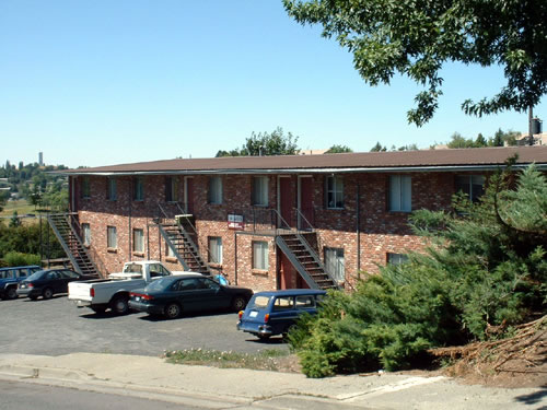 Exterior of The Aegis Apartments, 1610 Wheatland Drive, Pullman, Wa