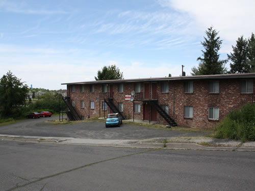 Exterior of The Aegis Apartments, 1610 Wheatland Drive, Pullman Wa 99163