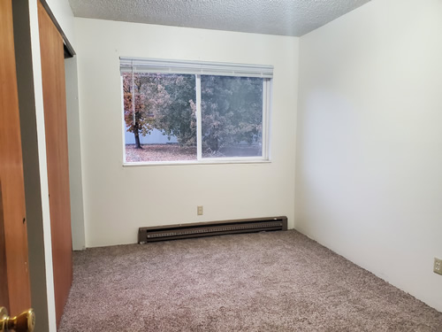 A one-bedroom at The Cougar Apartments,  205 Larry St., #12, Pullman WA 99163