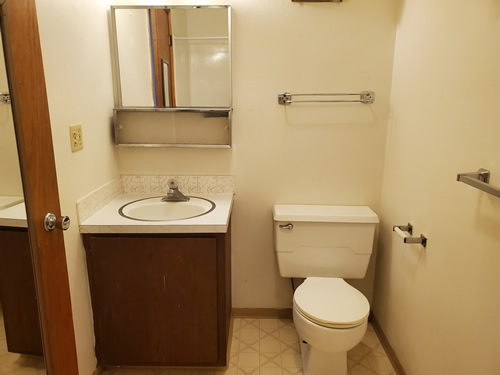 A one-bedroom at The Cougar Apartments, 205 Larry Street, #17, Pullman WA 99163