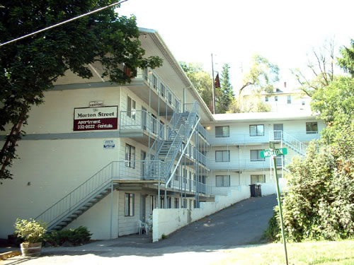 Exterior picture of The Morton Street Apartments, 545 Morton Street in Pullman, Wa