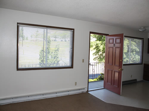 A two-bedroom at The Valley View Apartments, apartment 38, 1235 Valley Road in Pullman, Wa