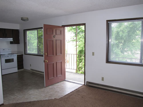 A two-bedroom at The Valley View Apartments, 1325 Valley R., #41, Pullman WA 99163