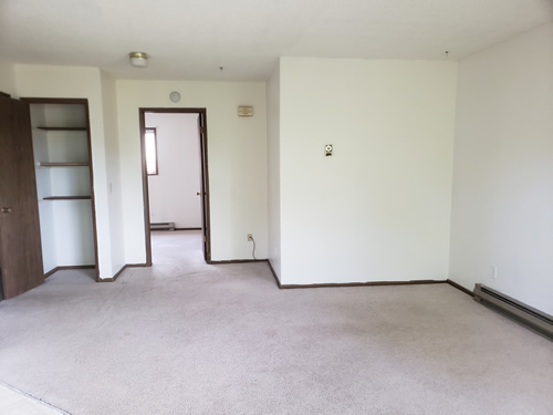 Picture of apartment 4, a one-bedroom at The Valley View Apartments, 1325Valley Road, Pullman, Wa