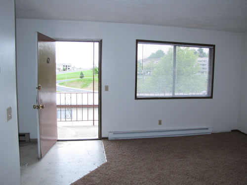 A two-bedroom at The Valley View Apartments, #62, 1325 Valley Rd. Pullman WA 99163