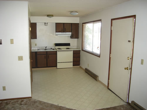 Picture of apartment 13, a two-bedroom at The Valley View Apartments, 1425 Valley Road, Pullman, Wa