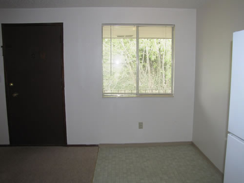 A one-bedroom at The West View Terrace Apartments, 1134 Markley Drive, apt. 7, Pullman Wa 99163