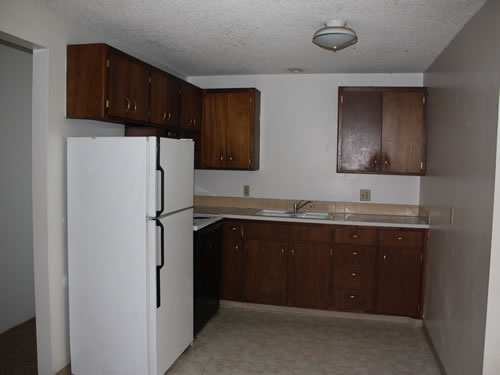 A two-bedroom at The West View Terrace Apartments, 1142 Markley Drive, apartment 1 in Pullman, Wa