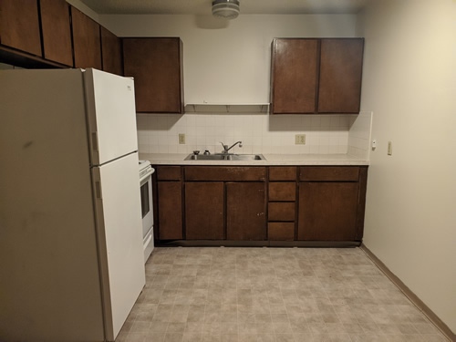 A two-bedroom at The West View Terrace Apartments, 1146 Markley Drive, apartment 7, Pullman, Wa 99163